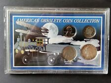 America's Obsolete Coin Collection – 4 coin set (2 silver)
