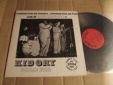 KID ORY - LIVE AT CLUB HANGOVER - VOLUME 4 - LP - CADILLAC DC 12014 - UK 1983