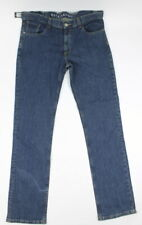 Billabong Mens Amplified Narrow Straight Fit Jeans Denim Blue 28 New
