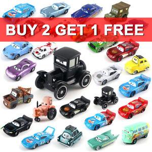1:55 Diecast Model Car Toy Disney All Series Lightning McQueen Mattel Pixar Cars