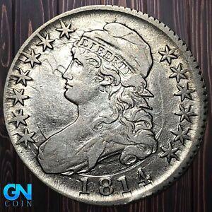 1814 Capped Bust Half Dollar  --  MAKE US AN OFFER!  #K5578