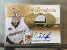 13/14 Hot Prospects SICK PATCH Auto Rookie Viktor Fasth UD /375 Upper Deck RC !!