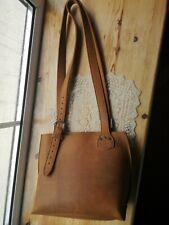 Saddleback Leather Tobacco Small Urban Tote *Discontinued*