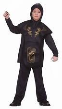 Forum Novelties Black Ninja Costume, Child Large NEW