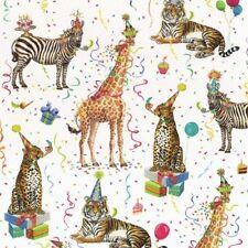 Carta da regalo in rotoli, tema animali