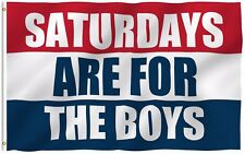 ANLEY 3x5 Saturdays Are For The Boys Flag Male Fraternity Flags Polyester