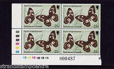 Solomon Islands - 1982 Butterfly - WMK CROWN TO RIGHT OF (CA) - U/M - SG 457w