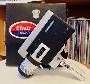CANON ZOOM 518 Super 8 Camera with Original carry Box