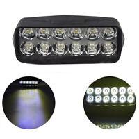 1Pc Motorcycle Car Super Bright 12 LED Light Headlight Spotlights Headl xnLDUK