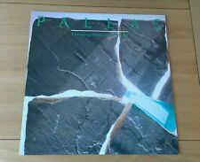 "Pallas Throwing Stones At The Wind UK 12"" Single Harvest 12PLS4 A1B1 Pic Sleeve"