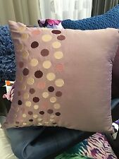 Quality cushion cover - Icon - Amethyst - retro textured spot pattern