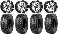 "Itp Twister 14"" Wheels Machined 30"" Chicane Rx Tires Kawasaki Teryx Mule"