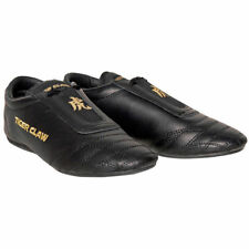 Tiger Claw- Martial Arts Shoes Black Size 1 Leather NEW NWT With Carrying Bag