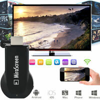 Wireless Wifi Airplay Mirror Adapter for iPhone 11 iOS Android Phone to HDMI TV