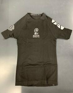 Assos Skinfoil Spring/Fall Base Layer, Short Sleeve, Size I (Med.), Black