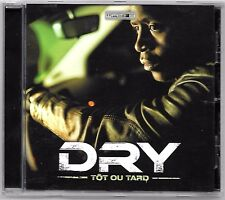 CD RAP FRANCAIS / DRY - TOT OU TARD / 17 TITRES (ALBUM ANNEE 2012) WATI B