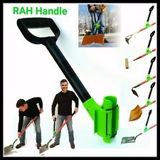 Shovel Assist by RAH! Ergonomic Back Saving Handle for Snow Shovels, Rakes HEFT