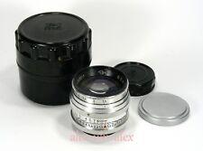 """Red """"П"""" Jupiter-3 1,5/50 mm lens M39 Zorki Leica M39 mount. Excellent.№6303011"""