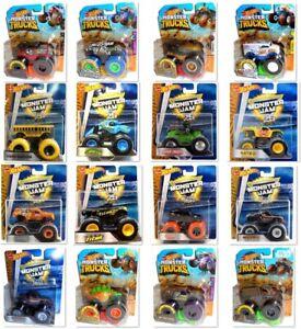 Hot Wheels Monster Jam & Trucks Mattel Voiture Vehicule Cars 1:64 die-cast model