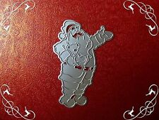 Larger Santa Claus Metal Cutting Die,Stencil,Craft,Card Making,Scrap-booking