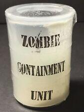 ZOMBIE CONTAINMENT UNIT Glow Slime Mini Goo Drum 1 of 5 Random Plastic Zombies