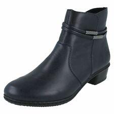 Ladies Rieker Ankle Boots 'Y0781'
