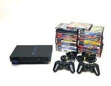 Sony PlayStation 2 PS2 Fat Console Bundle 2 Controllers 29 Games TESTED