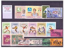 Lotto 25 Francobolli Tematica Olimpiadi Messico 1968 Q761