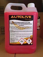 Anticongelante refrigerante rosa 55% G12 Hecho en España ISO 9001 5L