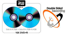 10-Pak 9.4GB Double-Sided 16X DVD+R's (record both sides of disc)