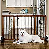Richell Wood Freestanding Pet Gate - NEW IN OPEN BOX
