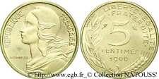 PIECE 5 CENTIMES FRANCS 1966 Marianne - Lot Monnaie Ancienne Rare Coin