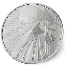 100 Euros Argent BU Coq 2014