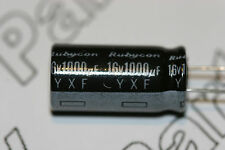 2x 1000uF 16V Capacitor Rubycon Radial Aluminium Electrolytic YXF