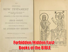 Forbidden/Lost Books Of The BIBLE, Over 150 Books Apocrypha, pdf, txt, On 1 Disk