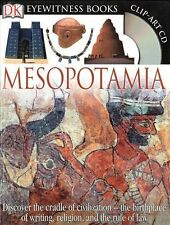 NEW DK  MESOPOTAMIA HB with Clip-Art CD  Eyewitness Book with WALL CHART