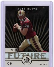 Alex Smith 2005 UD Reflections BLACK Parallel ROOKIE Card SP 22/25 49ers HOT SSP