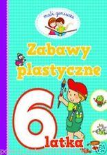 ZABAWY PLASTYCZNE 6 LATKA dla dzieci lamiglowki zadania polska ksiegarnia JBooks