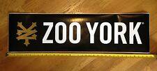 VTG ZOO YORK SKATE STICKER HAROLD HUNTER ORTIZ NIKE SUPREME DSC UNBREAKABLE NOS