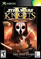 Star Wars: Knights of the Old Republic II - The Sith Lords (Xbox, 2004) Untested