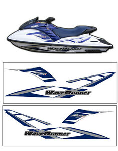 2001 YAMAHA GP1200R WAVERUNNER DECAL KIT GP 1200 R