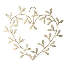 Parlane Mistletoe Heart Hanger Christmas Decoration