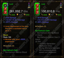 Diablo 3 RoS XBOX ONE - [SOFTCORE] New 2.6 - Modded Barbarian Weapon Bundle