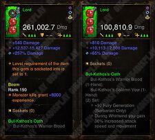 Diablo 3 RoS Xbox One - [Softcore] NEU 2.6 - Format Barbar Waffe Bundle