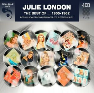 JULIE LONDON - BEST OF 1955-1962 4 CD NEW