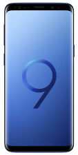 Samsung Galaxy S9 Plus Smartphone (Unlocked) - 128GB, Coral Blue, Dual SIM