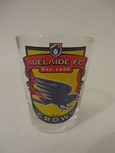 Adelaide FC Crows AFL Shot Glass