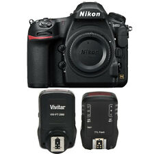 Nikon D850 Digital Slr Camera Body 45.7Mp 4K Fx-format +Ttl Flash Trigger Bundle