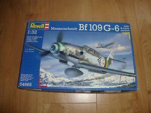 L215 Revell Model Kit 04665 - Messerschmitt Bf109 G-6 - 1/32