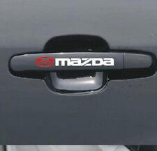 4pcs/set Reflective Auto Door Handle Bar Decal Vinyl Car Sticker for MAZDA Acces